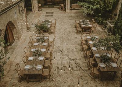disposicion mesas bodas